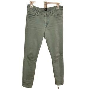 Gap Green Legging Jean 27 Regular